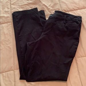 Stretch black pants